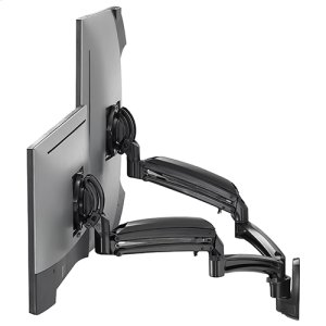 Chief ManufacturingKontour K1W Dynamic Wall Mount Reduced Height, 2 Monitors
