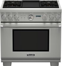 36 inch Professional Series Pro Grand® Commercial Depth Dual Fuel Range PRD364JDGU