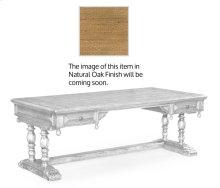 Elizabethan Natural Oak Desk (Large)