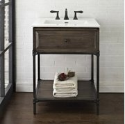 "Toledo 24"" Open Shelf Vanity Product Image"