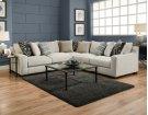 1400 Homespun Platinum Sectional Product Image