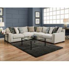 1400 Homespun Platinum Sectional