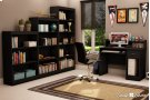 5-Shelf Bookcase - Pure Black Product Image