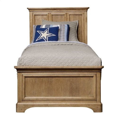 Chelsea Square French Toast Twin Panel Bed