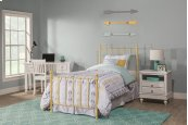 Molly Twin Bed Set Yellow