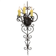 "14""W Kenna 3 LT Wall Sconce"
