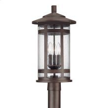 3 Light Outdoor Post Fixture