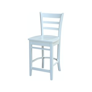 JOHN THOMAS FURNITUREEmily Stool in White