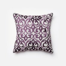 Grey / Plum Pillow