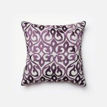 Grey / Plum Pillow