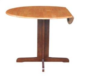 "36"" Complete Drop Leaf Table Cinnamon & Espresso"