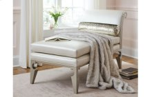 Glitz & Glam Chaise w/Bolster Pillow