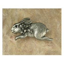 Bunny with Bow Pull Facing Left