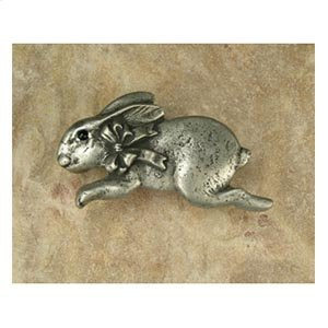 Bunny with Bow Pull Facing Left Product Image