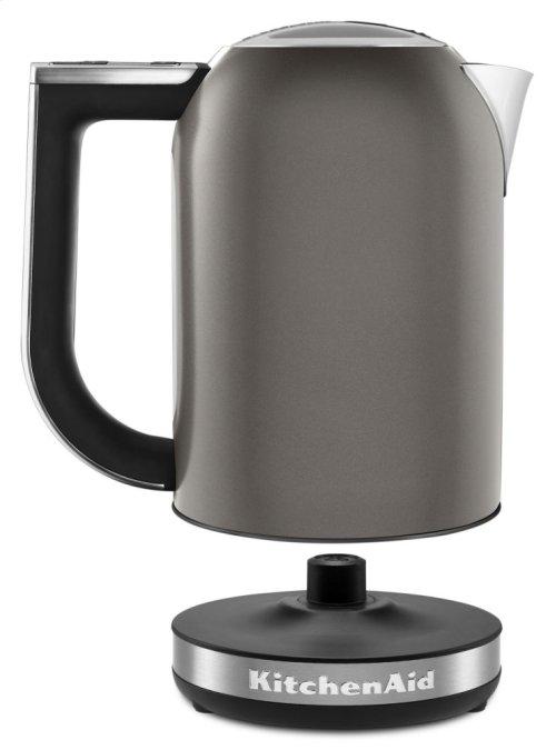 1.7 L Architect Series Electric Kettle - Cocoa Silver