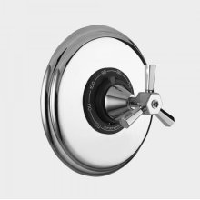 """1/2"""" Thermostatic Shower Set with Regent X Handle (available as trim only P/N: 1.005496.V0T)"""
