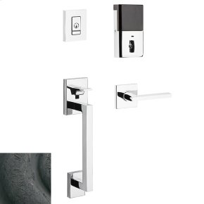 Distressed Oil-Rubbed Bronze Evolved Minneapolis Sectional Handleset