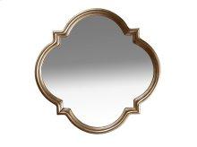 Cosmopolitan Shaped Mirror - White Bronze