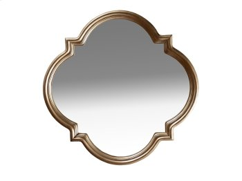 Cosmopolitan Shaped Mirror - White Bronze Product Image