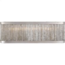 Visual Comfort NW2226BSL Niermann Weeks Sophie 3 Light 18 inch Burnished Silver Leaf Linear Bath Light Wall Light, Niermann Weeks, Large