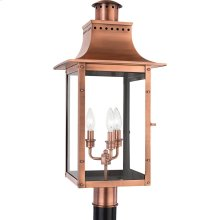 Chalmers Outdoor Lantern in Aged Copper