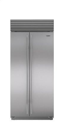 "36"" Built-In Side-by-Side Refrigerator/Freezer"