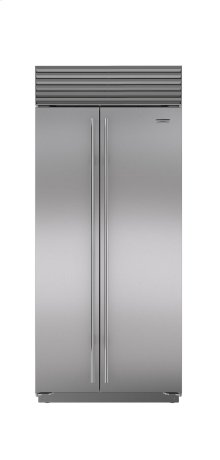 "36"" Built-In Side-by-Side Refrigerator/Freezer"