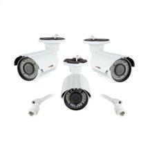 Bullet Camera Uni-mount Varifocal IP 2.4MP - White