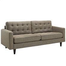 Empress Upholstered Fabric Sofa in Oatmeal