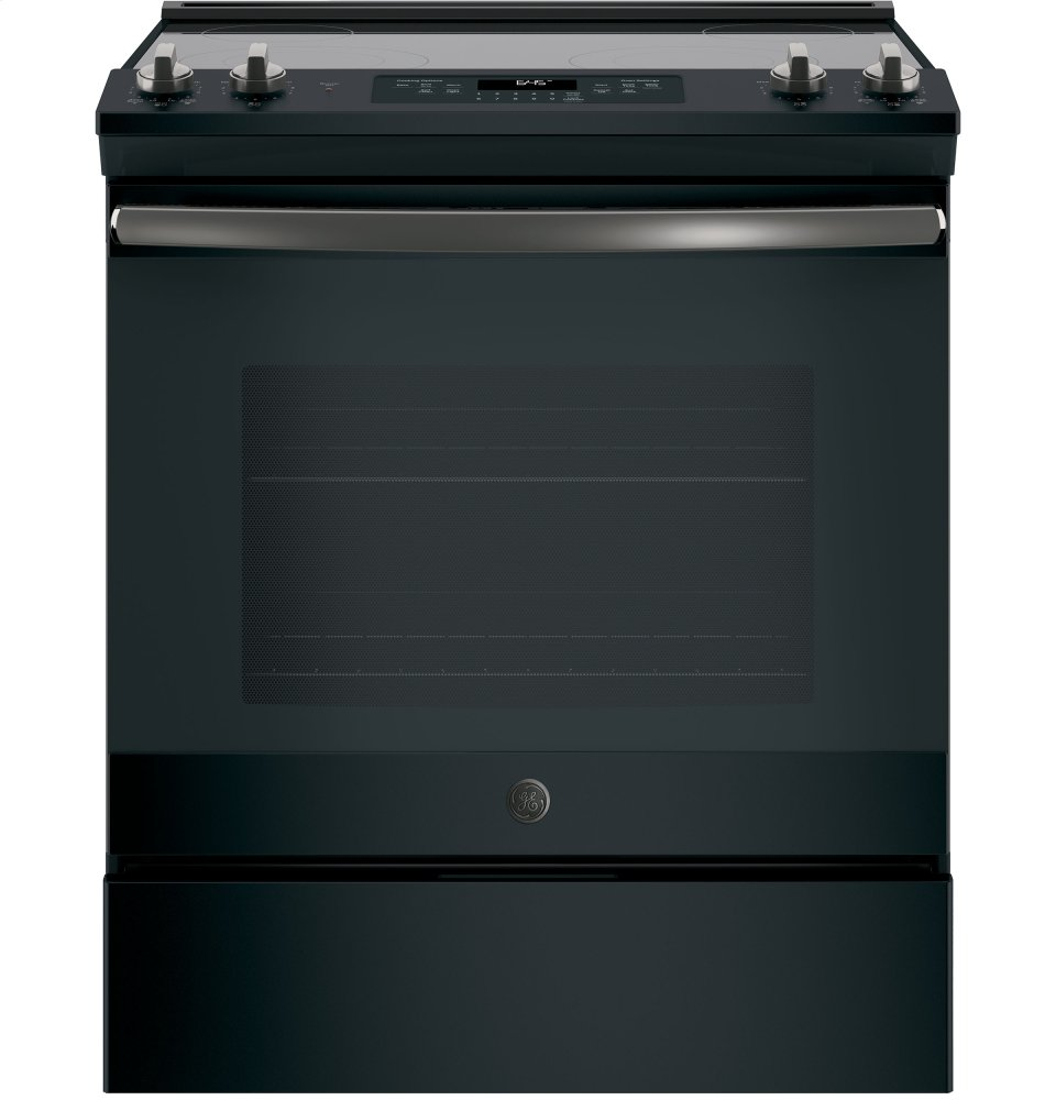 "GE(R) 30"" Slide-In Electric Range