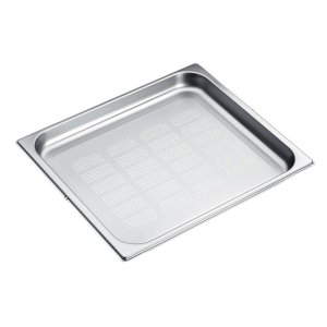 DGGL 12 Perforated steam oven pan For blanching or cooking vegetables, fish, meat and potatoes and much more -