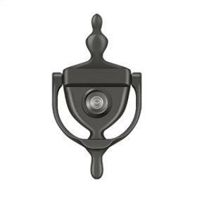 Door Knocker-Viewer - Oil-rubbed Bronze