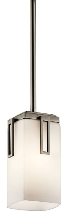 Leeds 1 Light Mini Pendant Antique Pewter
