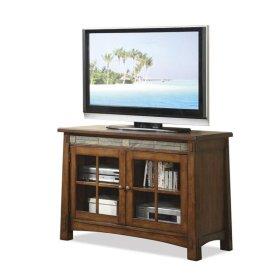 Craftsman Home 45-Inch TV Console Americana Oak finish