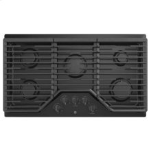 "36"" Built-In Gas Deep Recessed Edge-to-Edge Black Cooktop"