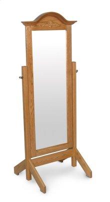 Arch Top Cheval Mirror