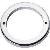Tableau Round Base 2 1/2 Inch - Polished Chrome