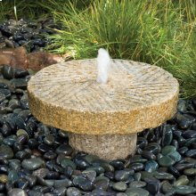 Small Antique Millstone Fountain
