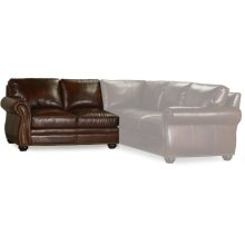 Bradington Young Sterling LAF Stationary Loveseat 8-Way Tie 221-57