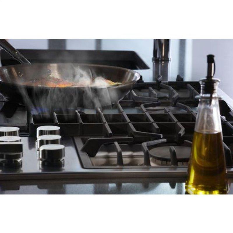 Hidden Additional 36 Jx3 Gas Downdraft Cooktop 5 Burner Black On Sku20lin49