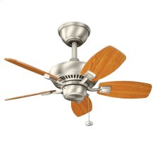 "Canfield 30"" Fan Brushed Nickel"
