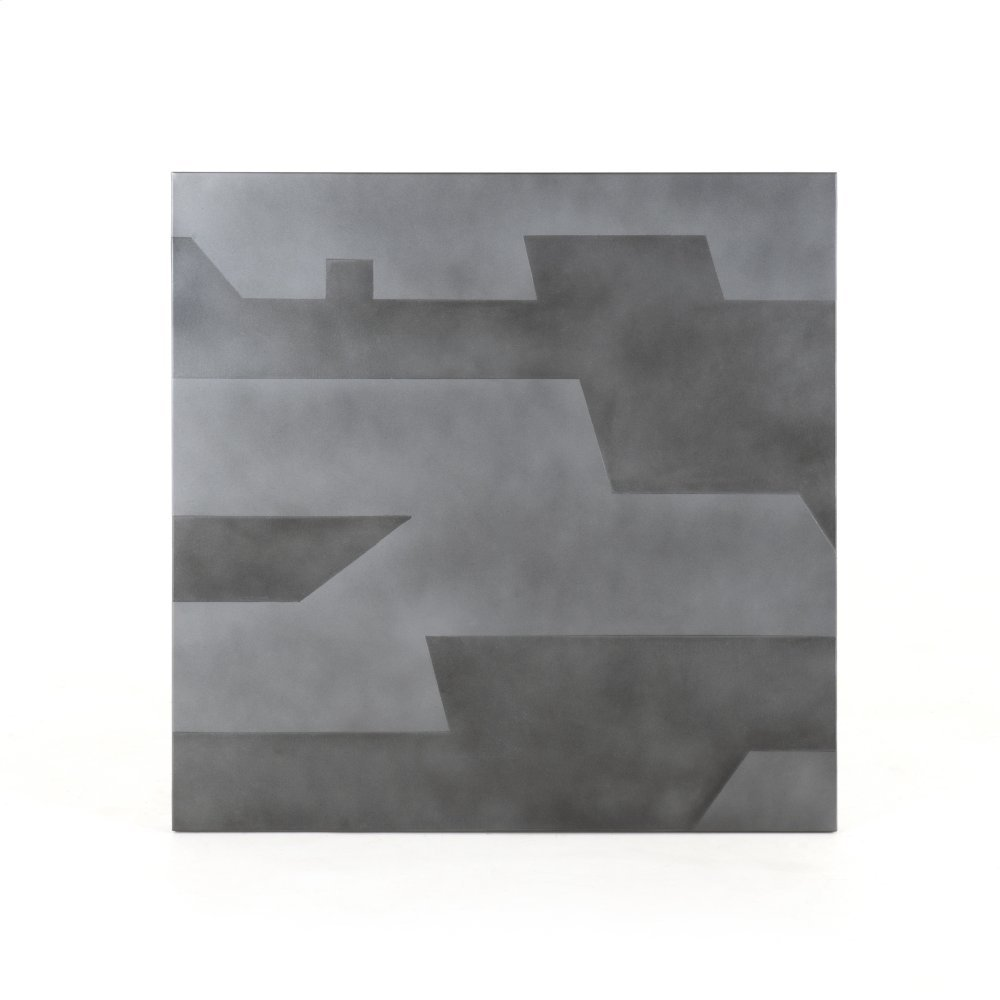 Spencer Wall Panel-acid Etched Pewter