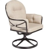Swivel Rocker Club Dining Arm Chair