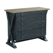 Reclamation Place Trestle Drawer Cabinet Product Image