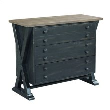 Reclamation Place Trestle Drawer Cabinet