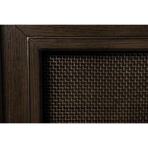 Joelle - Server - Carbon Gray Finish
