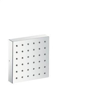 Brushed Bronze Shower module 120/120 for concealed installation square