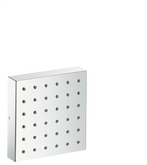 Chrome Shower module 120/120 Square for concealed installation Product Image