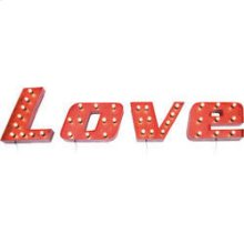 Wall Light Vintage Love (4/set)