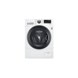 "LG Appliances2.3 cu. ft. Capacity 24"" Compact Front Load Washer w/ NFC Tag On"